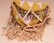 "Sioux Indian Vintage Medicine Bag  5.5""x4""  (b101)"