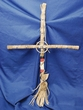 "Native American Cross Tigua 24"" -CLEARANCE  (c4)"
