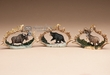 Rustic Faux Antler Christmas Ornament Set -Wildlife  (o3)
