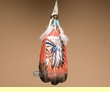 Native American Style Painted Feathers -Chief (PF25)