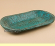 "Old Style Southwest Dough Bowl 20""-22"" -Turquoise  (b10)"