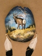 "Painted Turtle Shell Mandella 11""x12 -Elk   (14)"