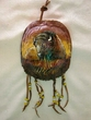 "Painted Turtle Shell Wall Hanging 5""x7"" -Buffalo   (38)"