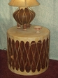 Pine Drum with Bark 24x22