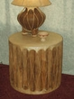 Tarahumara Indian Pedestal Floor Drums & Tables