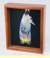 Southwestern Art Shadow Box 9x11 -Deer  (sb5)