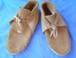Traditional Native American Shoshone Indian Moccasins -Size 7