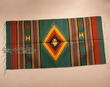 "Southwest Zapotec Indian Rug 30""x60""  (14)"