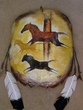 Painted Turtle Shell Wall Hanging -Cave Art (10)