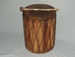 "Tarahumara Indian Cedar Drum 12""x18"""