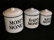 3 Set Country Storage Canisters