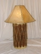 "Tarahumara Indian Drum Lamp 24""  -Clearance"