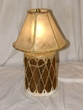 "Tarahumara Indian Drum Lamp  12""  -Clearance"