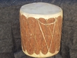 Tarahumara Log Pow Wow Drum 20x21 One-Of-A-Kind Closeout