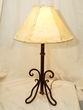 "Southwestern Wrought Iron Table Lamp 27.5"" -Clearance  (TL1)"