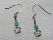 Native American Indian Jewelry -Tigua Earrings (103)