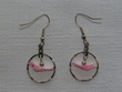 Native American Indian Jewelry -Tigua Earrings (107)