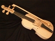 Tarahumara Indian Violin -Scroll Top