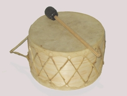 Indian Native American Tom Tom Hoop Drum 7""
