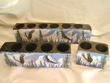 Southwestern Mission Candle Holder Set -Eagles  (22)