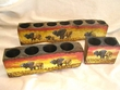 Southwest Mission Style Candle Holder Set -Buffalo   (25)