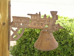 Old Cast Iron Bell - Train