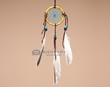 "Native American Navajo Dream Catcher 2.5"" -Bone  (dc25-3)"