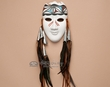 "Tigua Indian Native American Pottery Mask 7.25""  (nap425)"