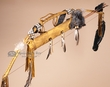 "Native American Bow & Quiver Set 43"" -Shell Sash  (ba42)"
