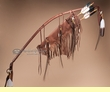 "Native American Bow & Quiver 44"" -Tigua (B33)"
