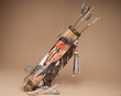 "Tarahumara Quiver & Arrow Set 19"" -Eagle Brave (q15)"