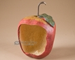 "Large Hanging Apple Bird Feeder 9""   (b3)"