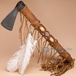 "Old Style Beaded Navajo Tomahawk - 16""  (7)"