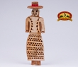 "Hand Carved Wooden Tarahumara Indian 10.5"" (wc2)"