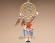 "Native Cedar Feather Dreamcatcher 11"" -Inner Peace  (103)"