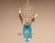 "Cedar Feather Dream Catcher 11"" -Medicine of the Heart  (104)"