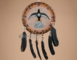 "Native American Rawhide Shield 14"" -Thunderbird (29)"