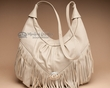 Southwestern Leather Purse -Beige  (54)