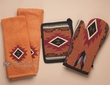 Southwestern Oven Mitt, Pot Holder & Towel Set -Zuni (ks2)