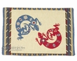 "Woven Southwestern Tapestry Placemat 13""x19"" -Gecko  (tp1)"