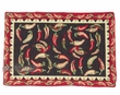 "Woven Southwest Tapestry Placemat 13""x19"" -Chillis  (tp5)"