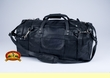 "Southwest Leather Travel Bag 22"" -Black"