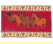 "Southwestern Tapestry Placemat 13""x19"" -Horses  (tp2)"
