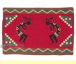 "Southwestern Tapestry Placemat 13""x19"" -Kokopelli  (tp4)"