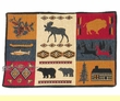 "Southwest Tapestry Placemat 13""x19"" -Lodge  (tp7)"