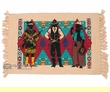 Fringed Western Placemat -Frontiersmen
