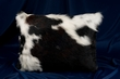 Western Ranch Cowhide Pillow 12x18   (P5)