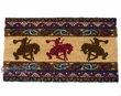 "Western Door Mat - Bucking Bronco 16""x28"""