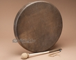 "Premium Native American Buffalo Drum 18"" -Tohlakai"