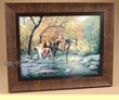 "Framed Cowboy Art 20.5""x16.5"" -The New Colt  (a31)"